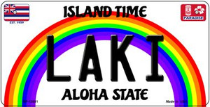 Laki Hawaii Wholesale Novelty Metal Bicycle Plate BP-12601
