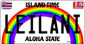 Leilani Hawaii Wholesale Novelty Metal Bicycle Plate BP-12602