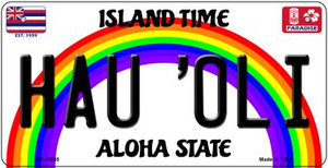 Hau Oli Hawaii Wholesale Novelty Metal Bicycle Plate BP-12605