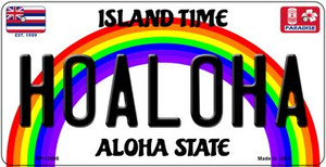 Hoaloha Hawaii Wholesale Novelty Metal Bicycle Plate BP-12606