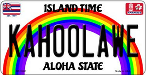 Kahoolawe Hawaii Wholesale Novelty Metal Bicycle Plate BP-12611