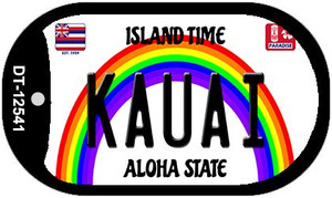 Kauai Hawaii Wholesale Novelty Metal Dog Tag Necklace DT-12541