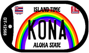 Kona Hawaii Wholesale Novelty Metal Dog Tag Necklace DT-12568