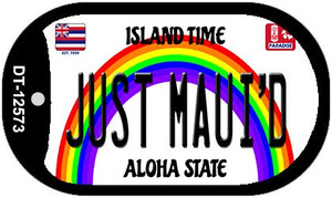 Just Mauid Hawaii Wholesale Novelty Metal Dog Tag Necklace DT-12573