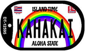 Kahakai Hawaii Wholesale Novelty Metal Dog Tag Necklace DT-12595