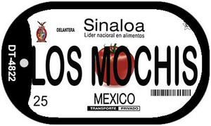 Los Mochis Mexico Wholesale Novelty Metal Dog Tag Necklace DT-4822