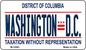 District Of Columbia Wholesale Novelty Metal Magnet M-12061