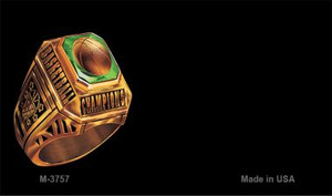 Basketball Champion Offset Wholesale Novelty Metal Magnet M-3757