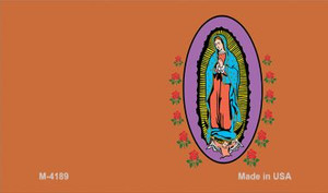 Virgin Mary Copper Offset Wholesale Novelty Metal Magnet M-4189
