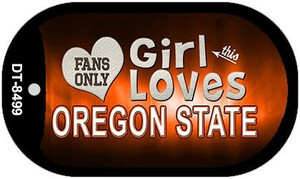This Girl Loves Her Oregon State Wholesale Novelty Metal Dog Tag Necklace DT-8499