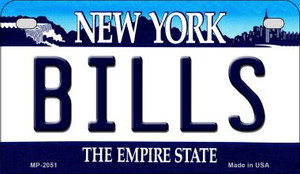 Bills New York Wholesale Novelty Metal Motorcycle Plate MP-2051