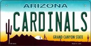 Cardinals Arizona Wholesale Novelty Metal Bicycle Plate BP-2033