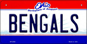 Bengals Ohio Wholesale Novelty Metal Bicycle Plate BP-2055