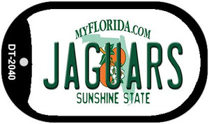Jaguars Florida Wholesale Novelty Metal Dog Tag Necklace DT-2040