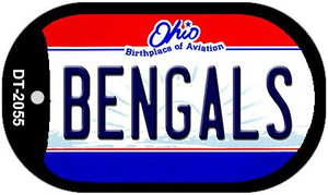 Bengals Ohio Wholesale Novelty Metal Dog Tag Necklace DT-2055