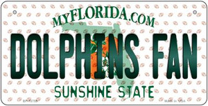 Dolphins Fan Florida Wholesale Novelty Metal Bicycle Plate BP-10759