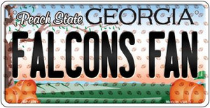 Falcons Fan Georgia Wholesale Novelty Metal Bicycle Plate BP-10761