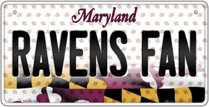 Ravens Fan Maryland Wholesale Novelty Metal Bicycle Plate BP-10765