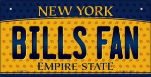 Bills Fan New York Wholesale Novelty Metal Bicycle Plate BP-10771