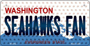 Seahawks Fan Washington Wholesale Novelty Metal Bicycle Plate BP-10783