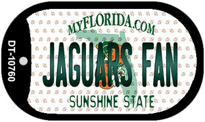 Jaguars Fan Florida Wholesale Novelty Metal Dog Tag Necklace DT-10760