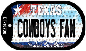 Cowboys Fan Texas Wholesale Novelty Metal Dog Tag Necklace DT-10780
