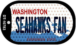 Seahawks Fan Washington Wholesale Novelty Metal Dog Tag Necklace DT-10783
