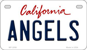 Angels California Wholesale Novelty Metal Motorcycle Plate MP-2096