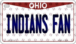 Indians Fan Ohio Wholesale Novelty Metal Motorcycle Plate MP-10788