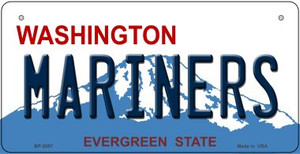 Mariners Washington Wholesale Novelty Metal Bicycle Plate BP-2087
