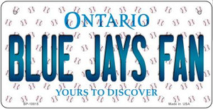 Blue Jays Fan Ontario Wholesale Novelty Metal Bicycle Plate BP-10815