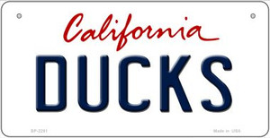 Ducks California Wholesale Novelty Metal Bicycle Plate BP-2281