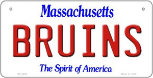 Bruins Massachusetts Wholesale Novelty Metal Bicycle Plate BP-2288