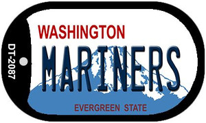 Mariners Washington Wholesale Novelty Metal Dog Tag Necklace DT-2087