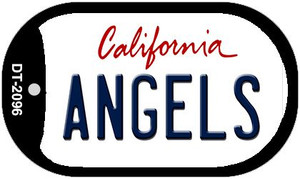 Angels California Wholesale Novelty Metal Dog Tag Necklace DT-2096