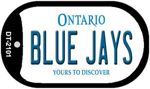 Blue Jays Ontario Wholesale Novelty Metal Dog Tag Necklace DT-2101