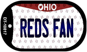 Reds Fan Ohio Wholesale Novelty Metal Dog Tag Necklace DT-10817