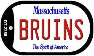 Bruins Massachusetts Wholesale Novelty Metal Dog Tag Necklace DT-2288