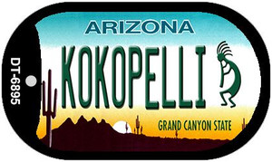 Arizona Kokopelli Wholesale Novelty Metal Dog Tag Necklace DT-6895