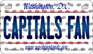 Capitals Fan Washington DC Wholesale Novelty Metal Motorcycle Plate MP-10844