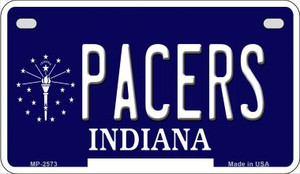 Pacers Indiana Wholesale Novelty Metal Motorcycle Plate MP-2573