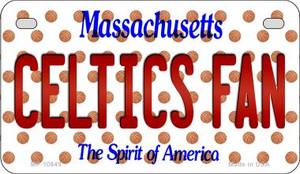 Celtics Fan Massachusetts Wholesale Novelty Metal Motorcycle Plate MP-10849