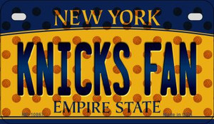 Knicks Fan New York Wholesale Novelty Metal Motorcycle Plate MP-10867