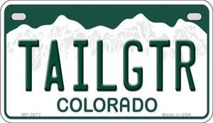 Tailgtr Colorado Wholesale Novelty Metal Motorcycle Plate MP-3672