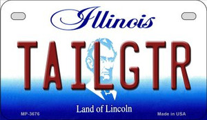 Tailgtr Illinois Wholesale Novelty Metal Motorcycle Plate MP-3676