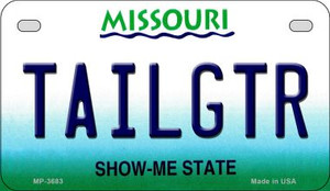 Tailgtr Missouri Wholesale Novelty Metal Motorcycle Plate MP-3683