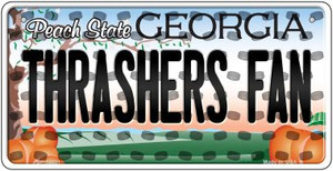 Thrashers Fan Georgia Wholesale Novelty Metal Bicycle Plate BP-10831