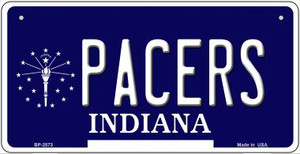 Pacers Indiana Wholesale Novelty Metal Bicycle Plate BP-2573
