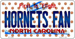 Hornets Fan North Carolina Wholesale Novelty metal Bicycle Plate BP-10850