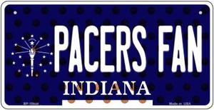 Pacers Fan Indiana Wholesale Novelty Metal Bicycle Plate BP-10858
